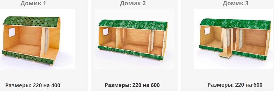 Дачные дома Владимир