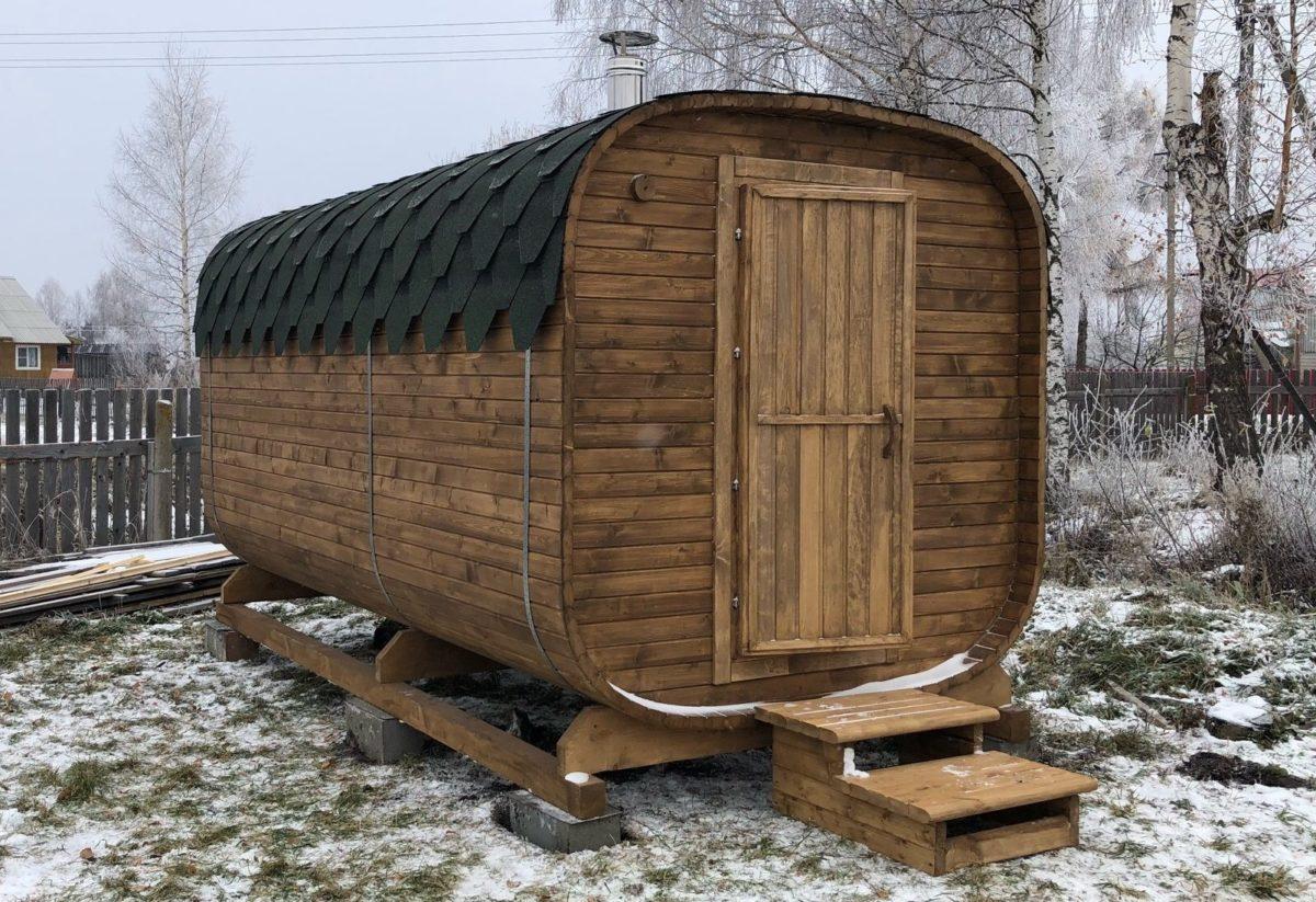Перевозная мобильная баня Бронницы